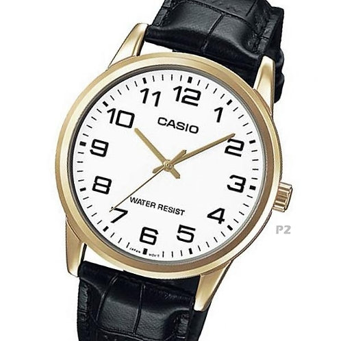 Casio Leather Watch (Unisex) | MTP-V001GL-7B | P2