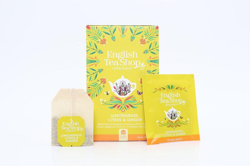 Lemongrass Citrus & Ginger (20 Tea Bag Sachets) | BR291378