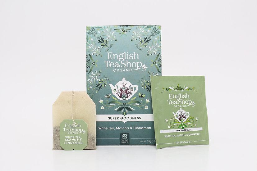 White Tea, Matcha & Cinnamon (20 Tea Bag Sachets)   BR577969