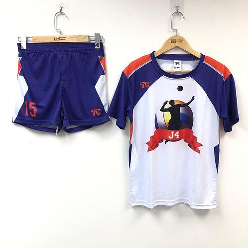 排球衫 Volleyball Jersey | J4 女子排球隊球衣 J4 Women's Volleyball Team Jersey (TC00048)