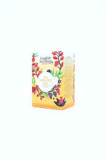 The Greatest Sips (20 Tea Bag Sachets) | English Tea Shop | 060154