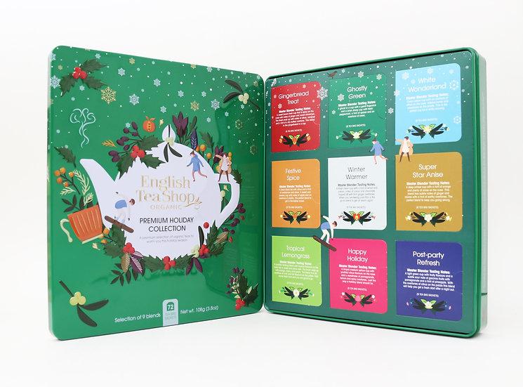 Green Gift Tin (72 Tea Bag Sachets) | English Tea Shop | 058335