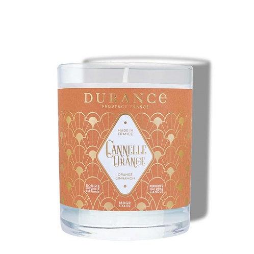Bougie parfumée Cannelle Orange 100g (40h)