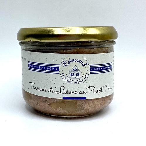 Terrine de lièvre au Pinot noir ARTZNER 180G