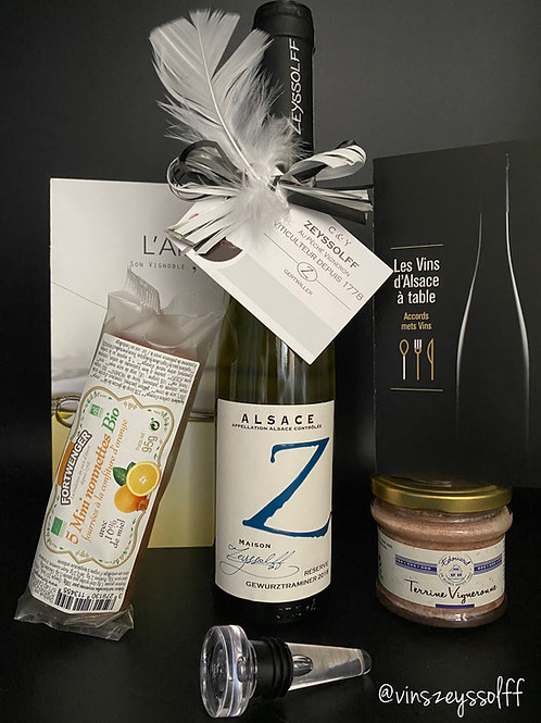 """Box """"découverte des saveurs d'Alsace"""" by ZEYSSOLFF (1.3.6 ou 12 mois)"""