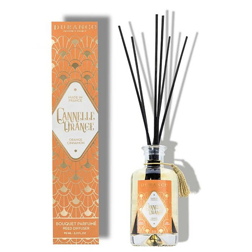 Diffuseur de Parfum Cannelle Orange 95ml (1mois diffusion)