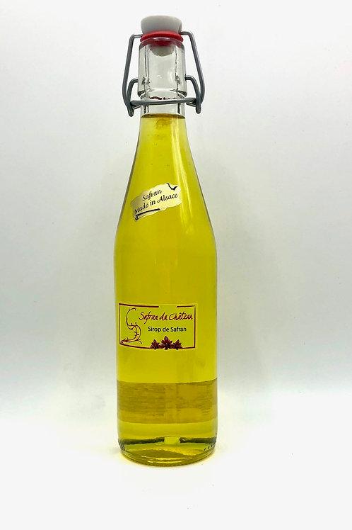 SAFRAN DU CHÂTEAU sirop de safran 50cl