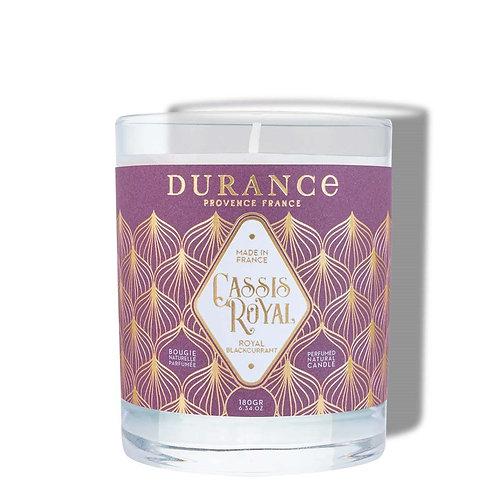 Bougie parfumée Cassis royal 100g (40h)