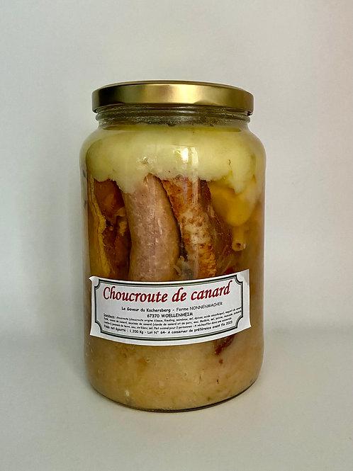 Choucroute de canard ferme - Gaveur du Kochersberg 2.2kg