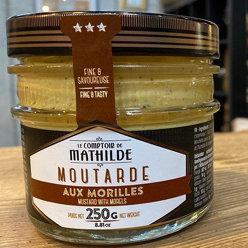 Moutarde aux morilles Comptoir de Mathilde