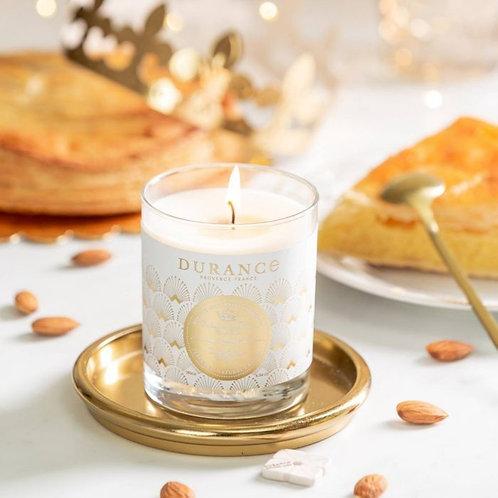 Bougie parfumée Galette des roi 100g (40h)