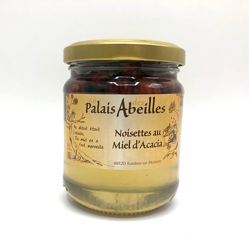 NOISETTES AU MIEL D'ACACIA / PALAIS DES ABEILLES 250g