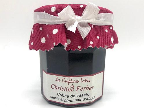 CRÈME DE CASSIS-CASSIS ET PINOT NOIR D'ALSACE / CONFITURE FERBER 220G