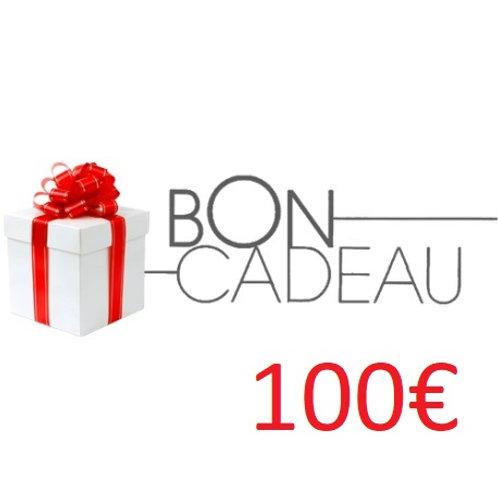 Bon cadeaux de 100€
