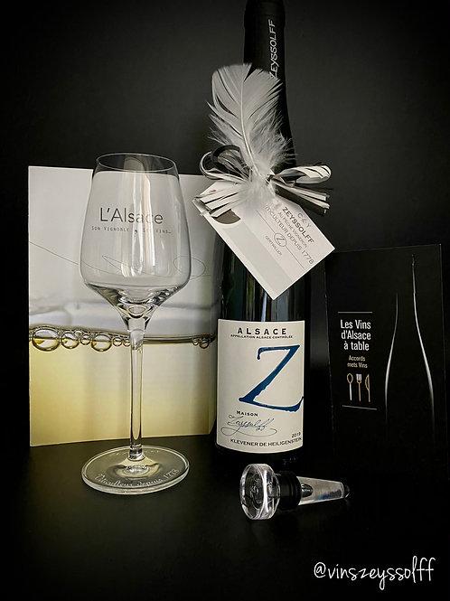 """Box """"découverte des vins d'Alsace"""" by ZEYSSOLFF (1.3.6 ou 12 mois)"""