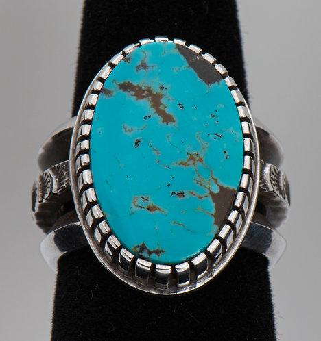 Aaron John, KingmanTurquoise Ring, 8