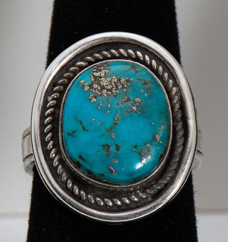 Morenci Turquoise Ring, 9