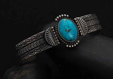 Herman Smith, Turquoise Bracelet