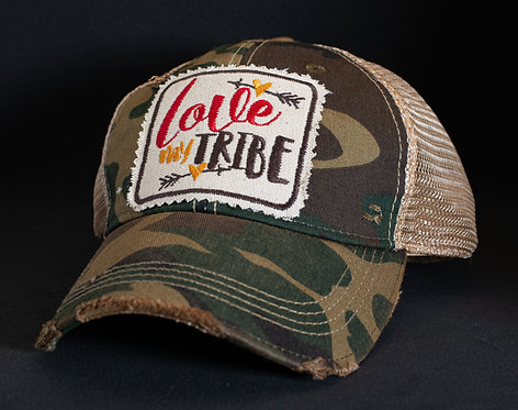 Love My Tribe Mesh Snapback Cap