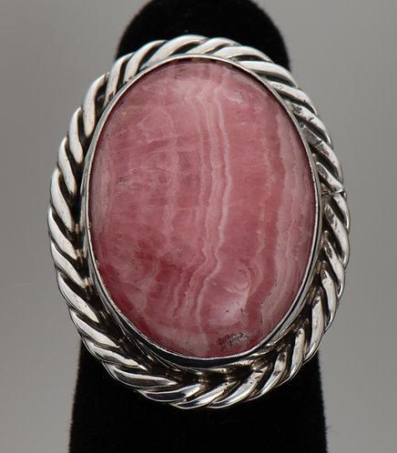 Rhodochrosite Ring, 7