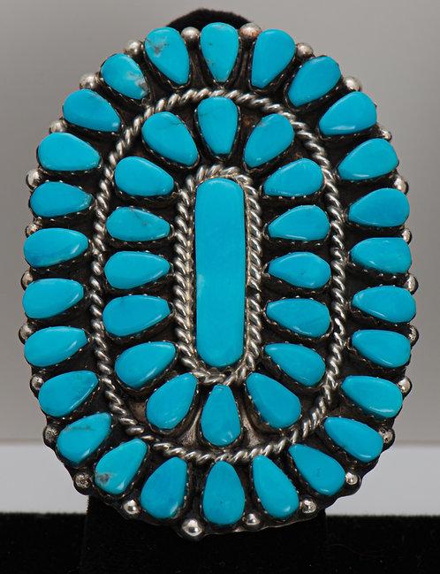 Griffin & Vangie Tsabetsaye, Sleeping Beauty Turquoise Ring, 8.5