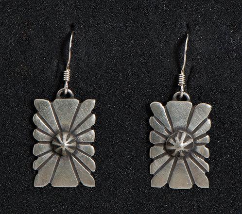 Native American Sterling Silver Earrings