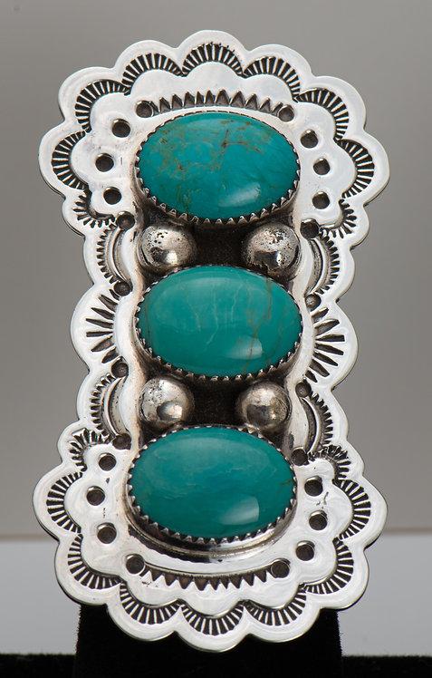 Kenneth Jones, Turquoise Ring, 7