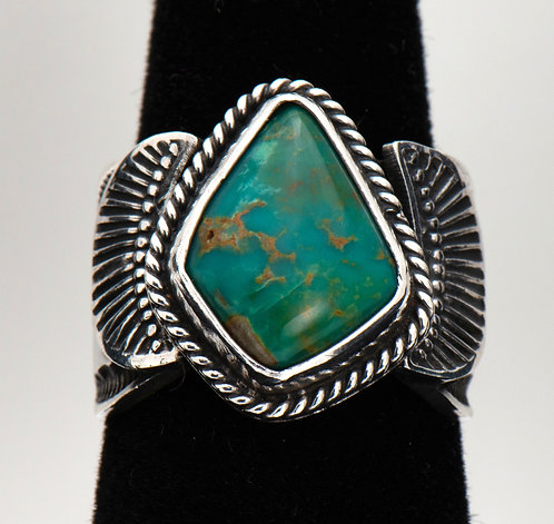 Sunshine Reeves, Turquoise Ring, 8