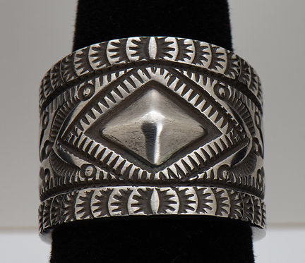 Herman Smith, Sterling Silver Ring, 10