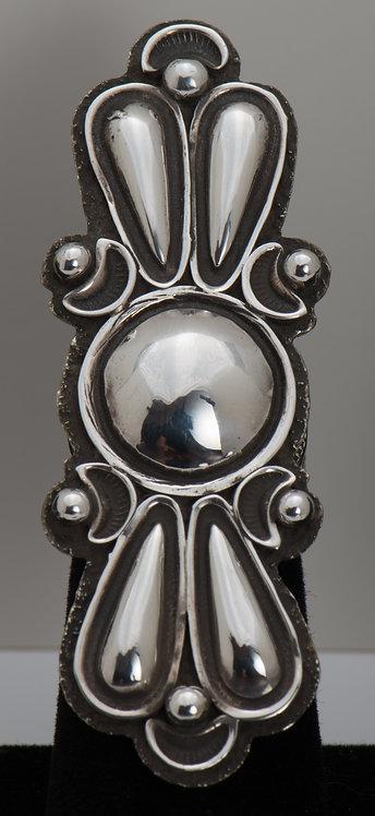 Alex Sanchez, Sterling Silver Ring, 7.5