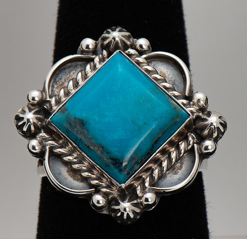 Turquoise Ring, 8.5