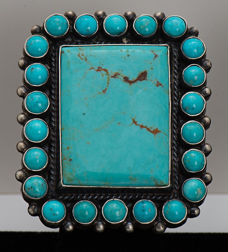 Anthony Skeets, Turquoise Ring, 8