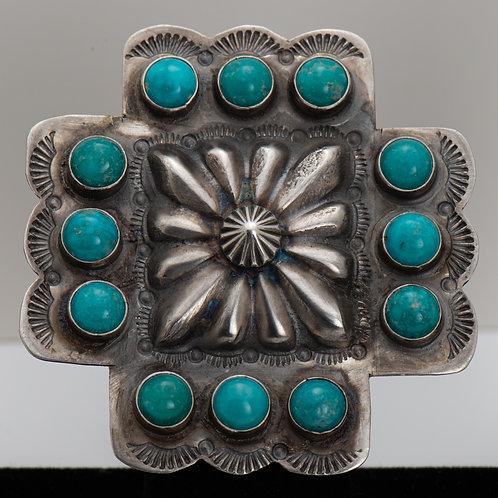 Readda Begay, Turquoise Ring, 8
