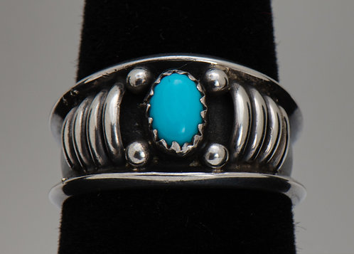 Sleeping Beauty Turqouise Ring, 8.5