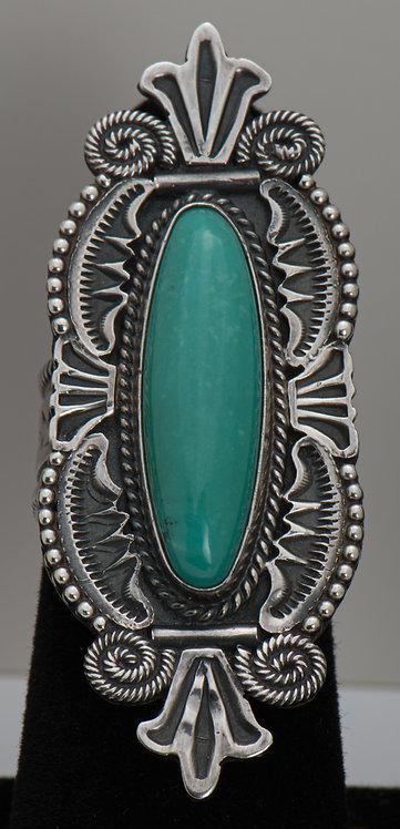 Michael Calladitto, Turquoise Ring, 7.5