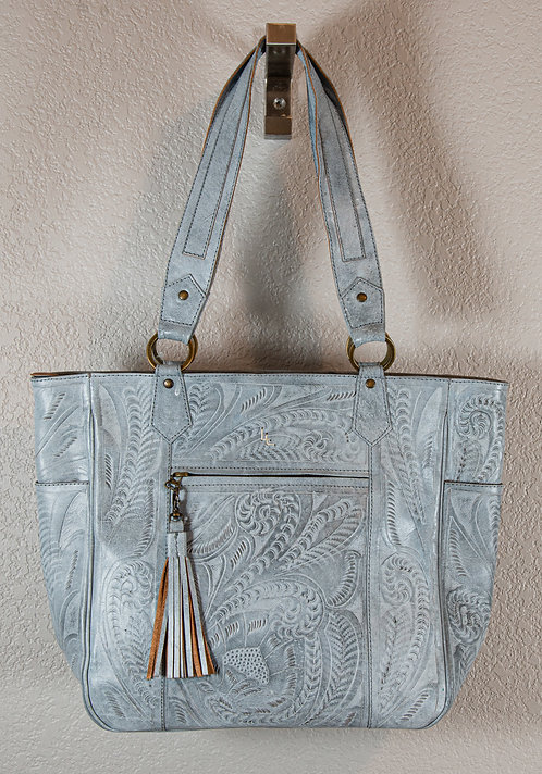 Leaders in Leather Hand Tooled Purse