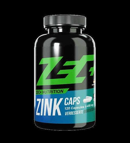 ZEC+ Zink Caps 120caps (25mg)
