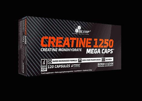 Olimp Creatine Monohydrate Mega Caps® (120 Caps à 1250mg)