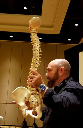 Matthew Howe teaching at the Florida Chiropractors Association Conference