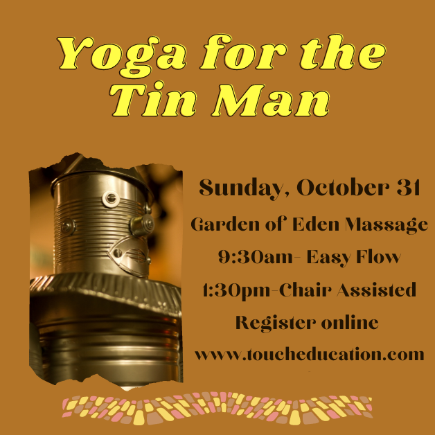 Yoga for the Tin Man (and his friends)