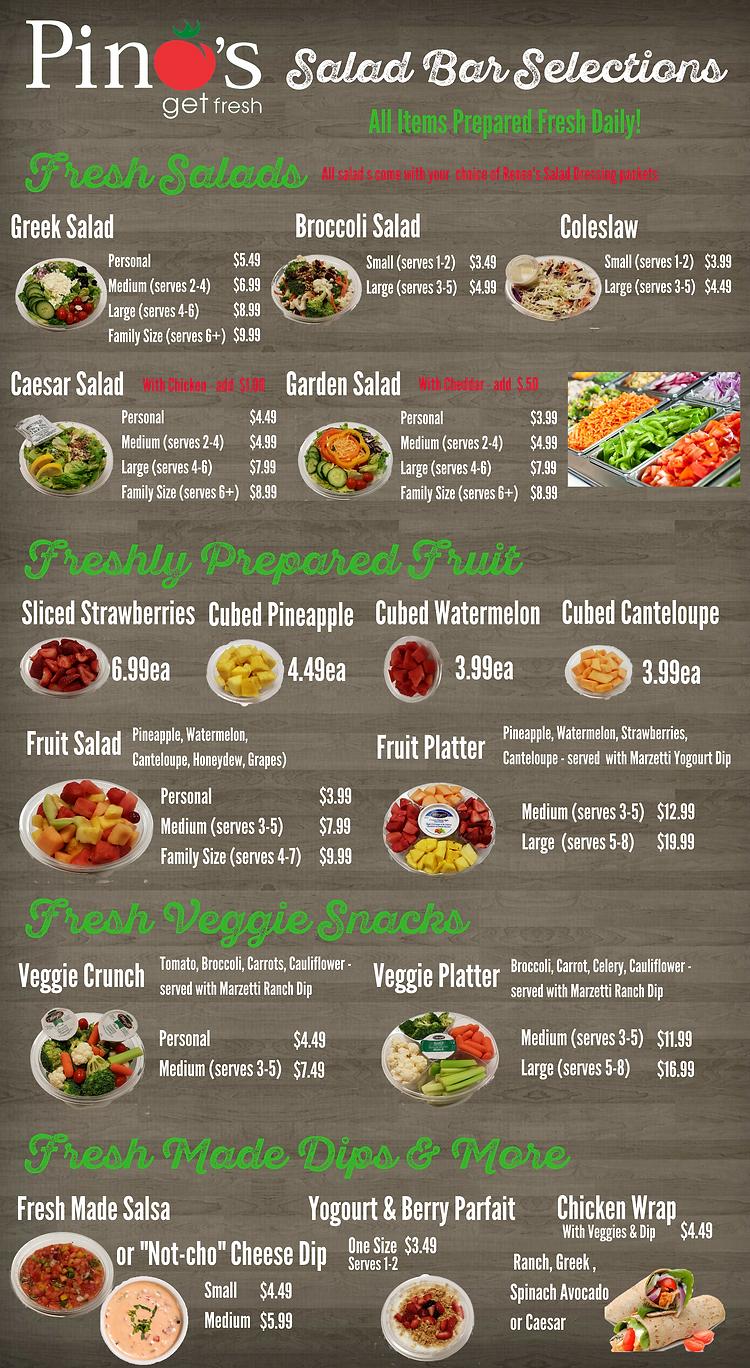 Pino's Salad Bar