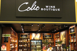 Colio Wine front entrance