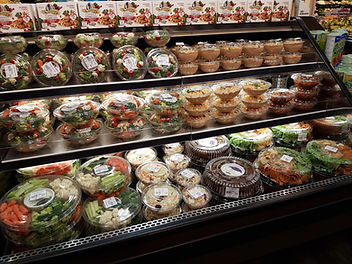Pino's fresh ready made and packaged vegetables and salads