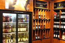Colio Estate Wine Display