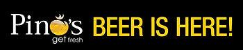 Pino's Craft Beer logo