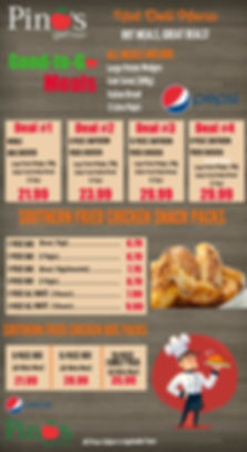 Pino's Deli Chicken Meal Deals