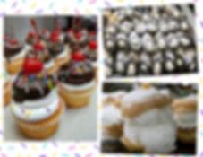 Pino's Cupcakes, Cream Puff, Canoli