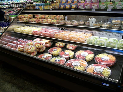 Pino's freshly made variety of packaged fruit