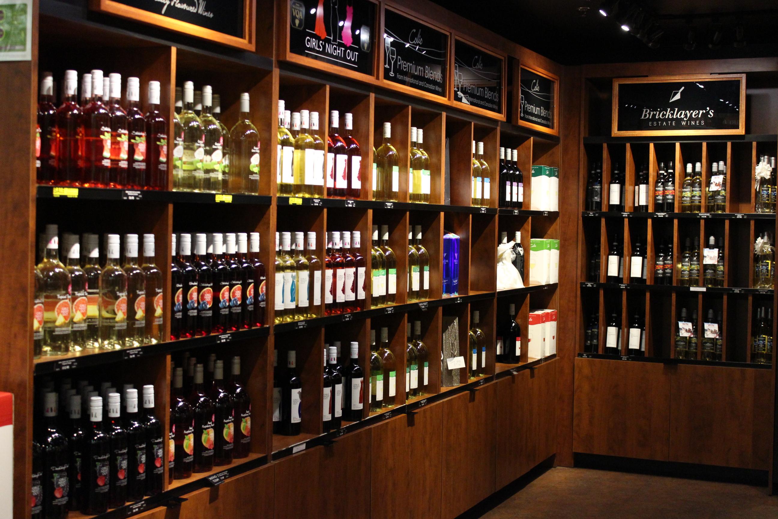 Colio wine selection