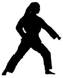 CTK Aimee forward block black silhouette